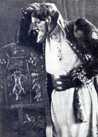 "Mark Osipovich Reisen - Boris Godunov. Opera ""Boris Godunov"", Musorgsky's Muses. The photo. (Марк Осипович Рейзен - Борис Годунов. Опера ""Борис Годунов"", муз Мусоргского. Фотография.) (Belyaev)"