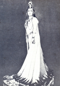 "Vera Alexandrovna Davydova - Amneris, opera ""Aida"", music. D. Verdi. The photo. (Вера Александровна Давыдова - Амнерис, опера ""Аида"", муз. Д. Верди. Фотография.) (Belyaev)"