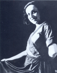 Anna Yakovlevna Guzik. The photo. (Анна Яковлевна Гузик. Фотография.) (Belyaev)