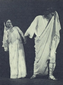 "I. S. Kozlovsky - Orpheus. ""Orpheus and Eurydice."" H. Gluck. The photo. (И. С. Козловский - Орфей. ""Орфей и Эвридика"". Х. Глюк. Фотография.) (Belyaev)"