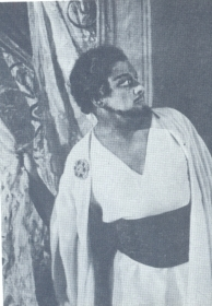 "N.K. Pechkovsky as Othello. Othello. The photo. (Н.К. Печковский в роли Отелло. ""Отелло"". Фотография.) (Belyaev)"