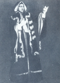 "N.K. Pechkovsky as Richard. ""Ball-masquerade."" The photo. (Н.К. Печковский в роли Ричарда. ""Бал-маскарад"". Фотография.) (Belyaev)"