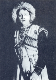"N.K. Pechkovsky as the Synodal. ""Daemon"". The photo. (Н.К. Печковский в роли Синодала. ""Демон"". Фотография.) (Belyaev)"