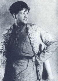 "N.K. Pechkovsky as Lenka. ""In the storm."" The photo. (Н.К. Печковский в роли Леньки. ""В бурю"". Фотография.) (Belyaev)"