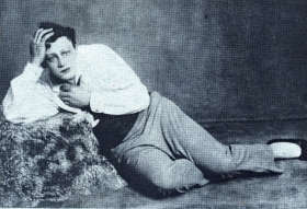 "N.K. Pechkovsky as Canio. ""Clowns"". The photo. (Н.К. Печковский в роли Канио. ""Паяцы"". Фотография.) (Belyaev)"