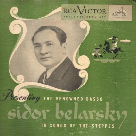"Sidor Belarsky, ""Songs of the steppes"" (Victor set S-49) (Сидор Беларский, ""Степные песни"" (альбом Victor S-49)) (mgj)"