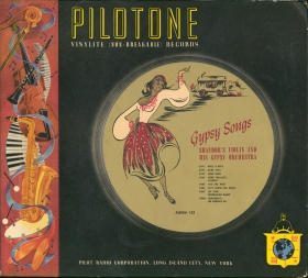 "Альбом Pilotone 123 ""Gypsy Songs"" (bernikov)"
