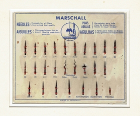 The Marschall gramophone needles - advertising (Jurek)